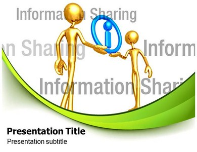 Information Sharing Powerpoint Templates