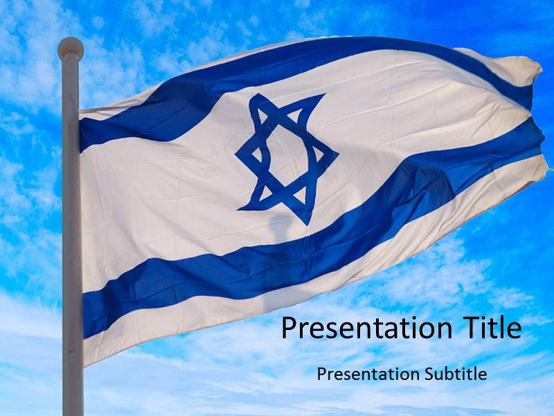 Israel flag powerpoint templates israeli flag powerpoint templates download toneelgroepblik Image collections
