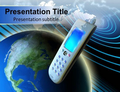 Telecom Communication Templates For Powerpoint