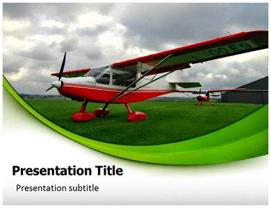 Aircraft Powerpoint Templates