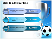 Soccer Cup powerPoint background