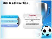 Soccer Cup power Point Backgrounds