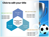 Soccer Cup design for power point