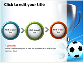 Soccer Cup power point download