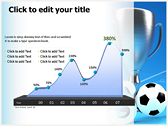 Soccer Cup power point background graphics