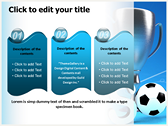 Soccer Cup powerpoint themedownload