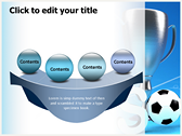 Soccer Cup powerpoint theme templates