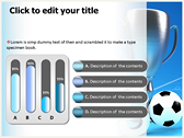 Soccer Cup powerpoint themeprofessional