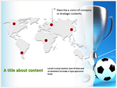 Soccer Cup ppt backgrounds