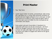 Soccer Cup powerpoint template download