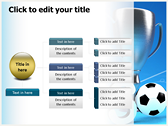 Soccer Cup ppt themes template