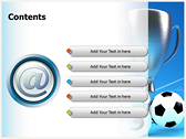 Soccer Cup ppt templates