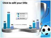 Soccer Cup powerPoint backgrounds
