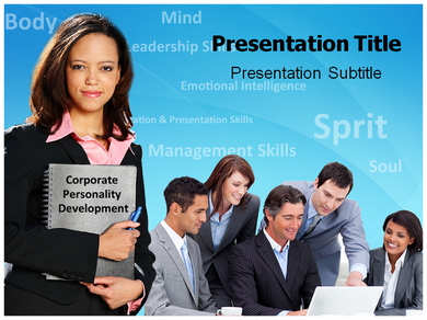 Corporate Personality Development Powerpoint Templates
