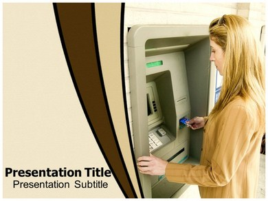 Atm machine Powerpoint Templates