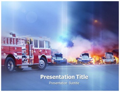 Fire Powerpoint(PPT) Templates|PPT Template for Firefighting