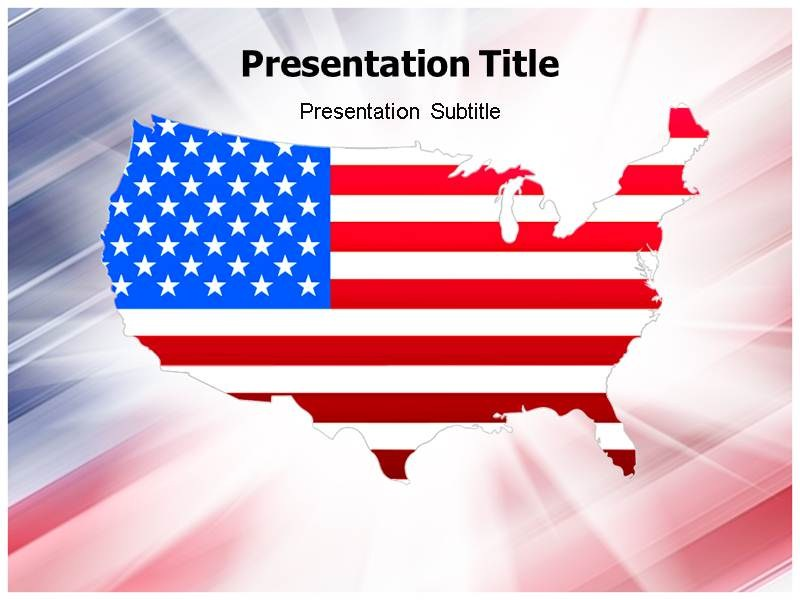 USA Map Powerpoint(PPT)Templates | PPT Template on USA Maps ...