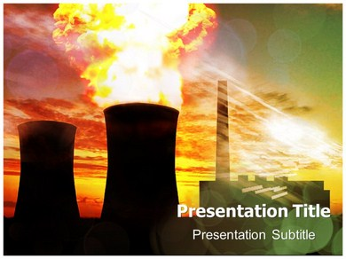 nuclear power, Powerpoint templates