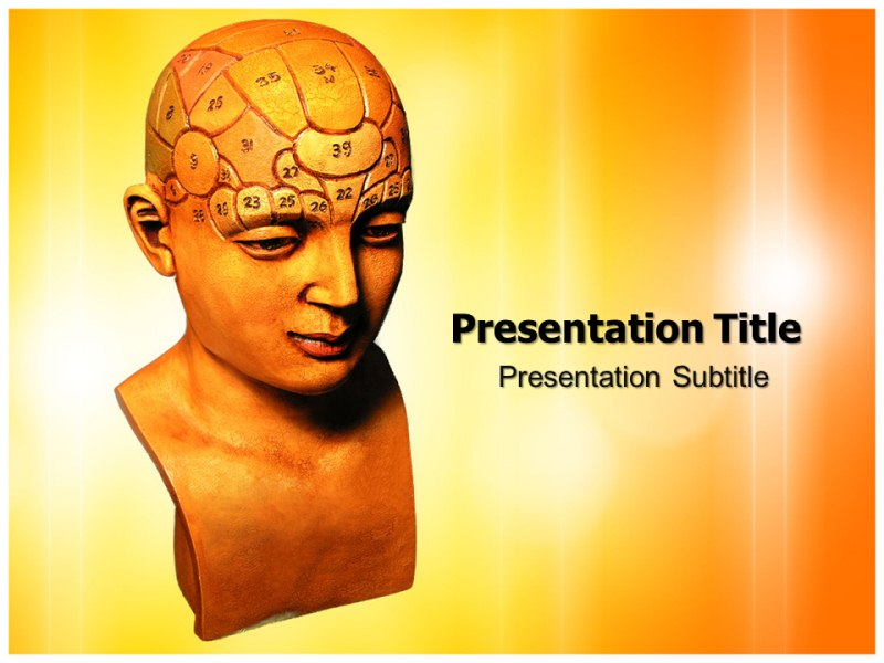 Psycology Test Powerpoint Templates