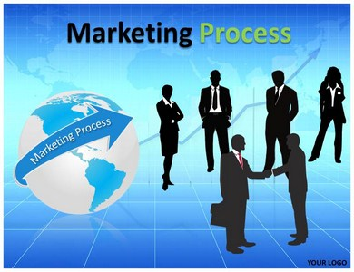 Marketing Process PowerPoint Template Powerpoint Templates