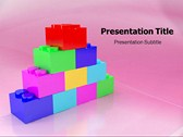 Kid Bricks powerPoint template