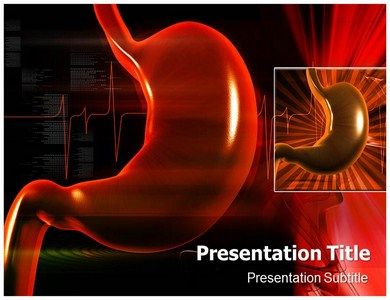 Stomach Cramps Powerpoint Templates