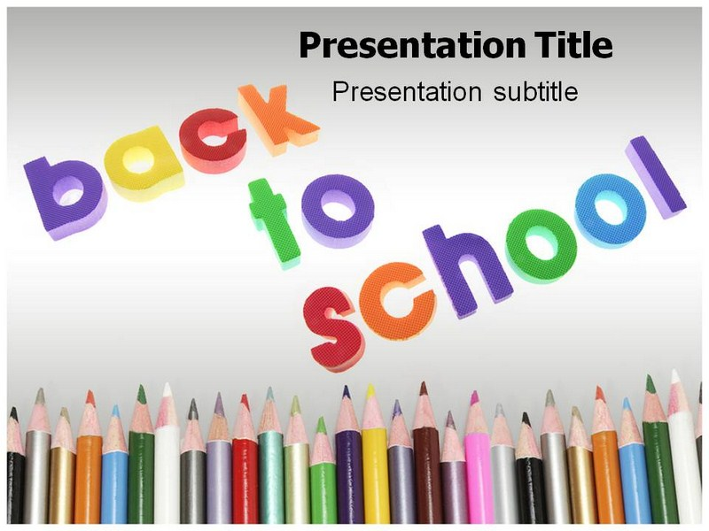 Welcome Back School Powerpoint Templates Welcome Back To School