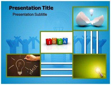 Idea Symbol Powerpoint Templates