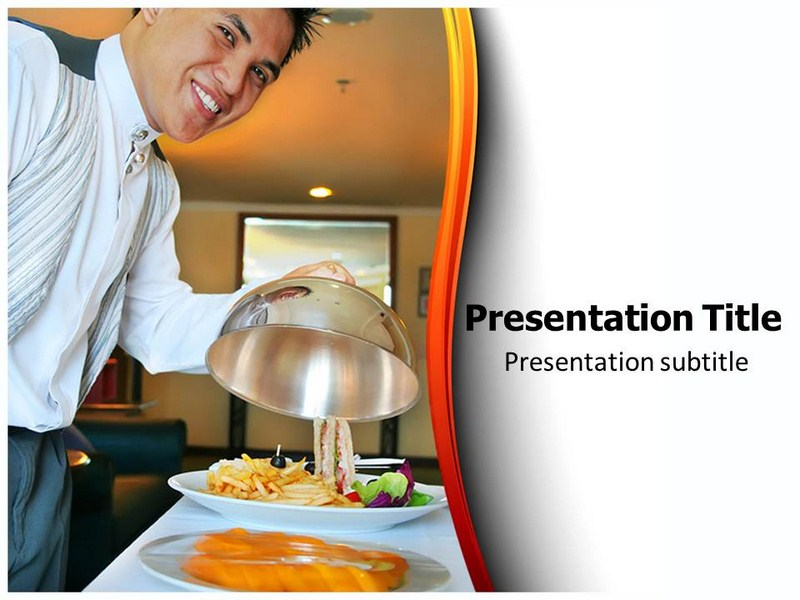 Hotel Food Powerpoint Templates