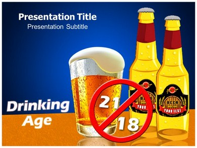 Drinking Age Powerpoint Templates