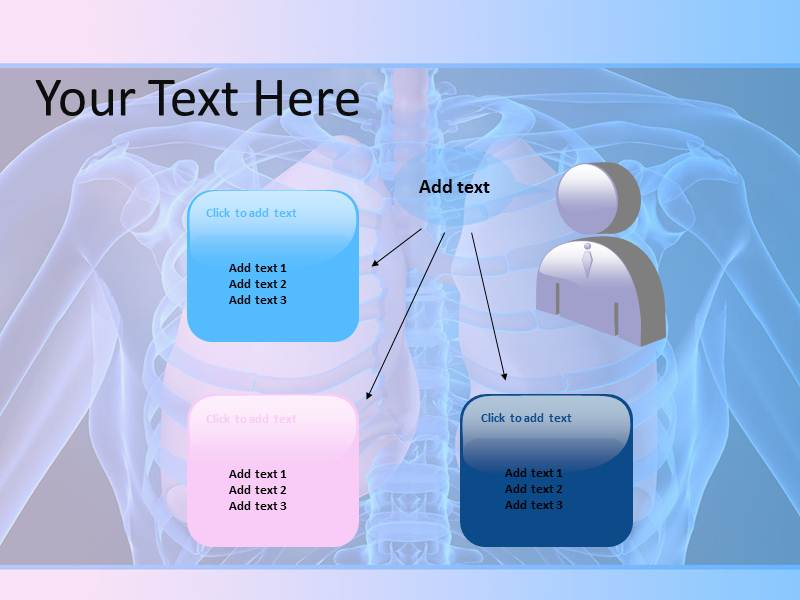 Human Lungs Powerpoint Templates
