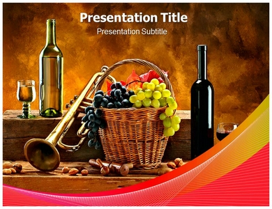 Wine 3 Powerpoint Templates