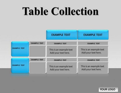 Table Collection Chart Powerpoint Templates