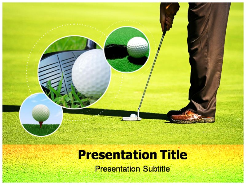 Golf Clubs Online Powerpoint Slides Powerpoint Templates On Golf