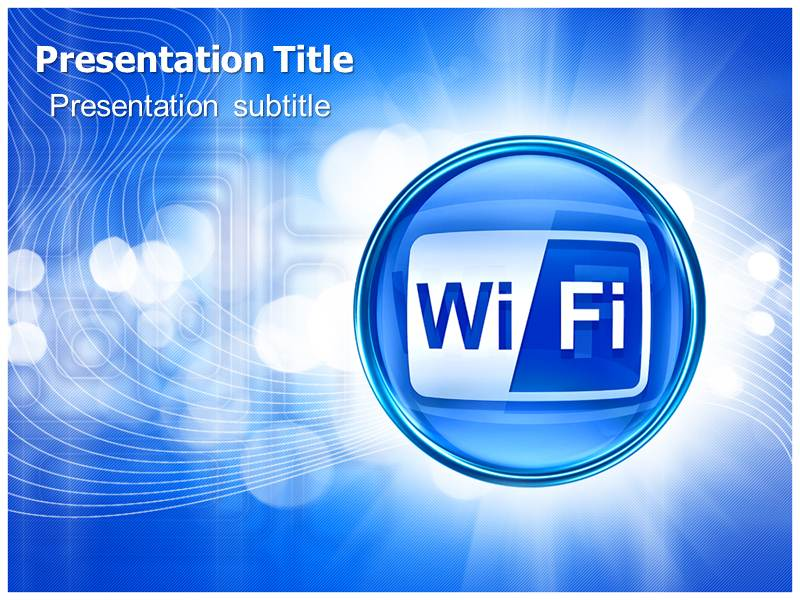 Powerpoint Presentation On Wifi Technology