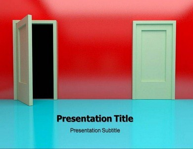 Way To Success Powerpoint Templates
