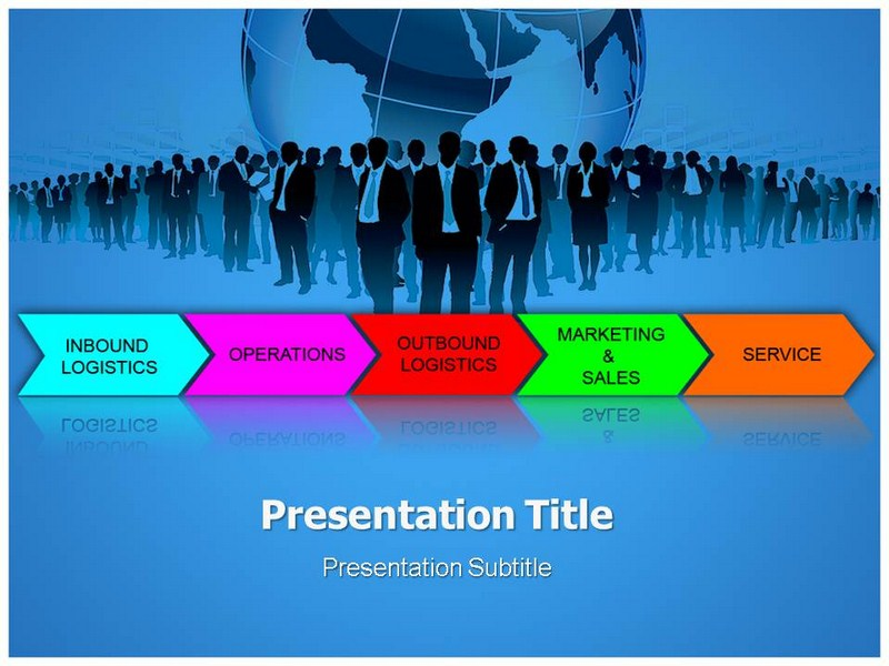 Value Chain Execution Powerpoint Templates