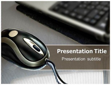Mouse Pads Powerpoint Templates