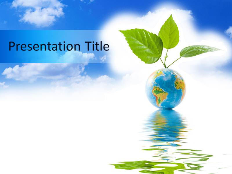 Green Earth Powerpoint Templates Green Powerpoint Slides Green