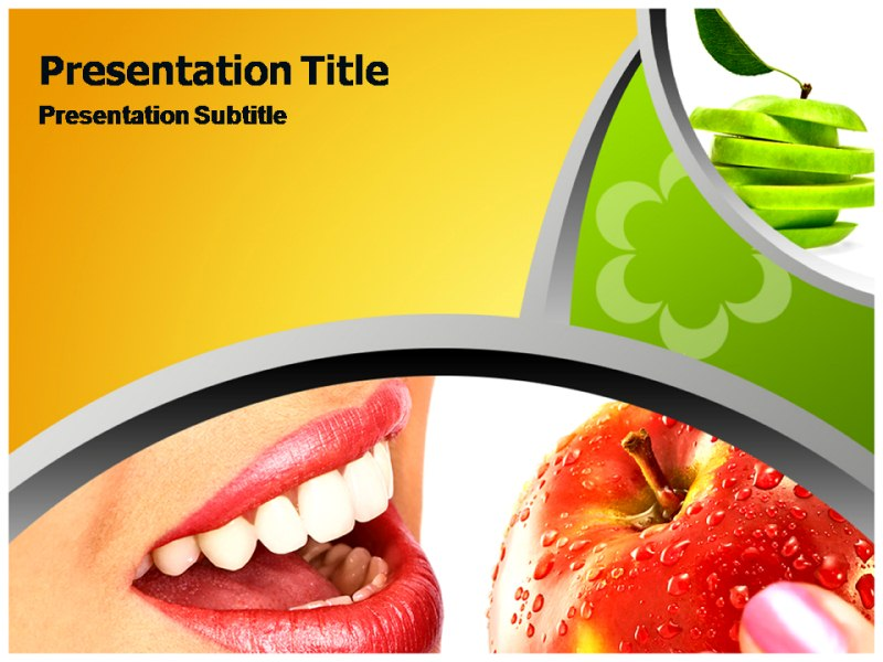Healthy Diet Powerpoint Templates Powerpoint Presentation On