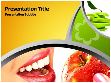 Healthy Diet Recipes Powerpoint Templates