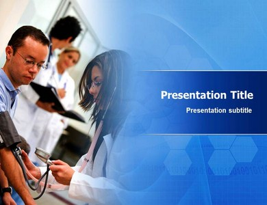 Pulmonary Artery Hypertension Powerpoint Templates