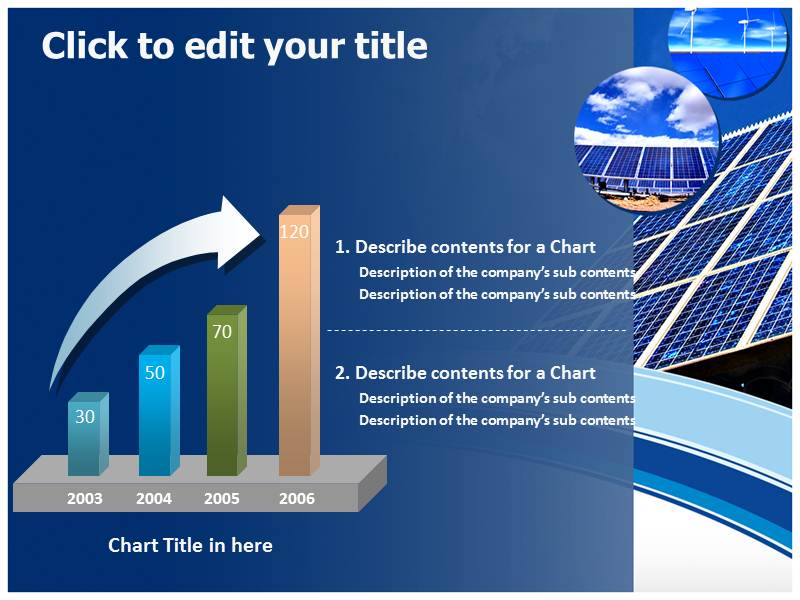Solar Energy Power Generating Energy Powerpoint Templates
