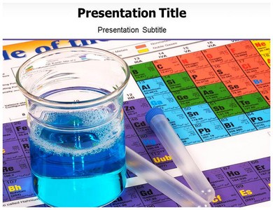 Chemical Formula Powerpoint Templates
