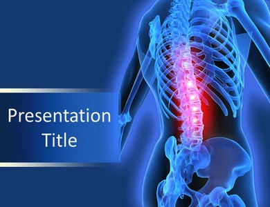 Back pain Powerpoint Templates