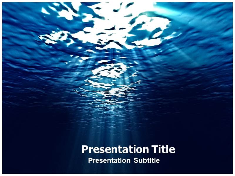 sea powerpoint  ppt  template  template powerpoint