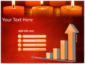 Votive Candles powerPoint background