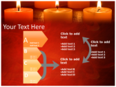 Votive Candles ppt backgrounds