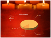 Votive Candles powerpoint themes download