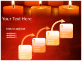 Votive Candles download powerpoint themes